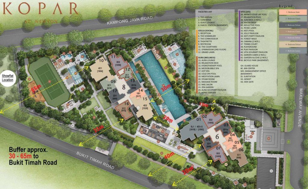 kopar-at-newton-condo-site-plan-singapore