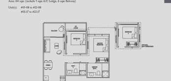 kopar-at-newton-floor-plan-2-bedroom-2d1-singapore
